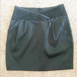 Arden B highwaist Black mini skirt